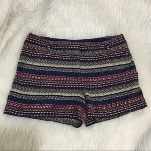 Ann Taylor loft multicolored summer shorts